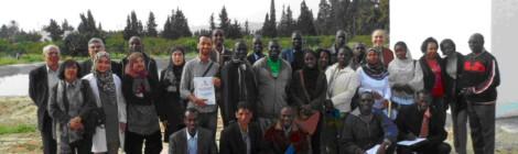 زيارة مسؤولين أفارقة لنابل، في تونس - 24 نوفمبر 2014